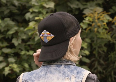 Czapka Trucker 79 Point Get Lost - Czarna