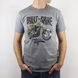 79 Point Built To Shine T-Shirt - Dark Grey Melange