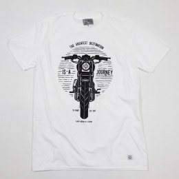 79 Point Moto Journey T-Shirt - White