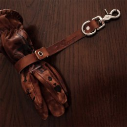 79 Point X Dowgird Leather Goods Glove Belt Clip - Brown