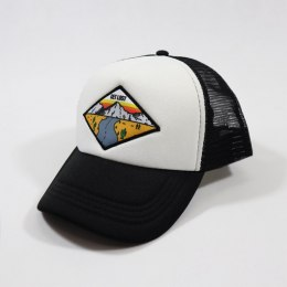 79 Point Get Lost Trucker Cap - Black & White