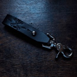 79 Point X Dowgird Leather Goods Keychain Clasp - Black