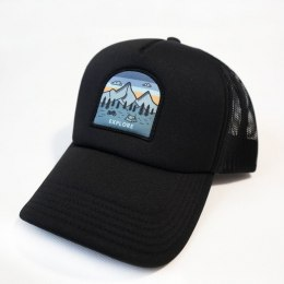 79 Point Explore Trucker Cap - Black