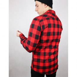 79 Point Checked Flannel Shirt - Black-Red