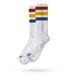 American Socks Stifler - Red/Yellow/Blue Striped