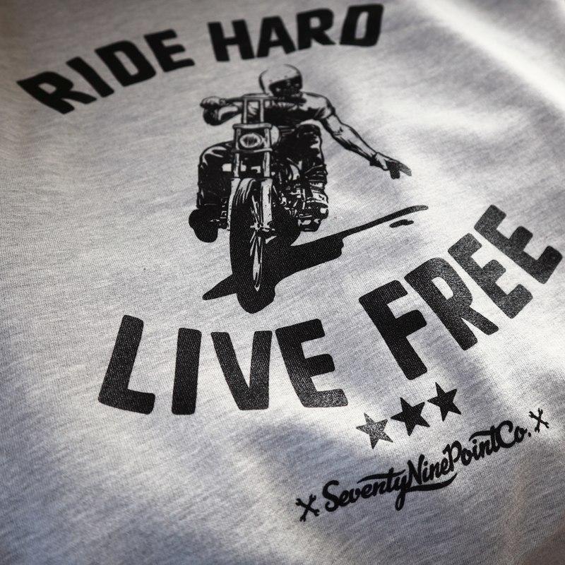 Bluza RIDE HARD LIVE FREE